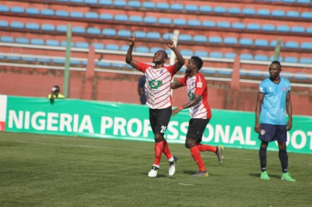 NPFL: Lobi's Dare Ojo grateful for goal and point at Wikki