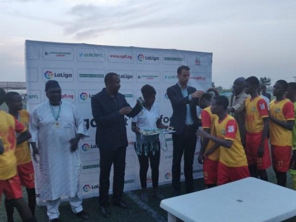 Katsina United claim victory at 2019 NPFL/LaLiga U15 Tournament