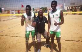 Nigeria takes third at U21 Beach Volleyball championship