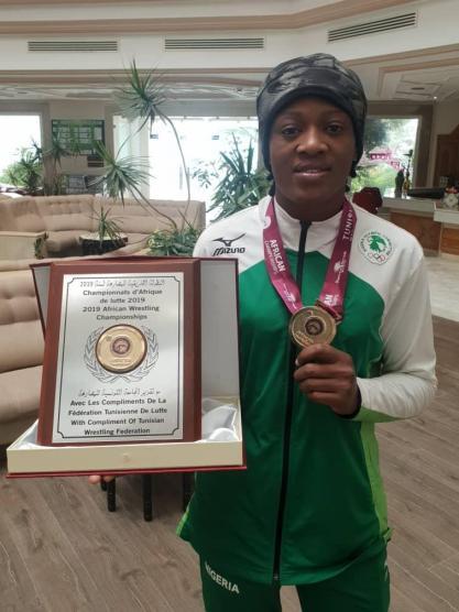 2019 AWC: Odunayo Adekuoroye named best female Wrestler