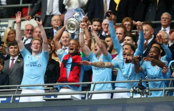 FA Cup final: Man City thrash Watford to make history
