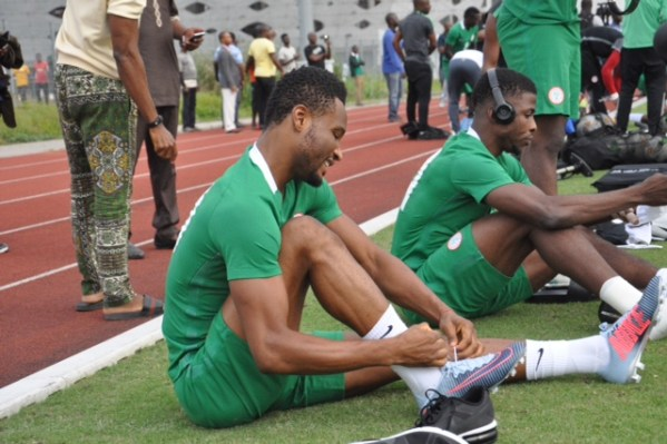TotalAFCON2019: Captain Mikel leads Eagles to Asaba camp