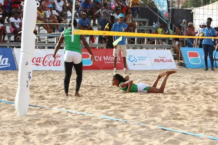 Nigeria female team finish fifth at Africa Beach Games
