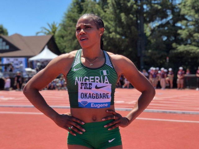 Okagbare secures maiden Diamond League win in Stanford