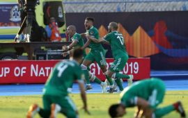 AFCON2019: Algeria book semifinal date with Nigeria