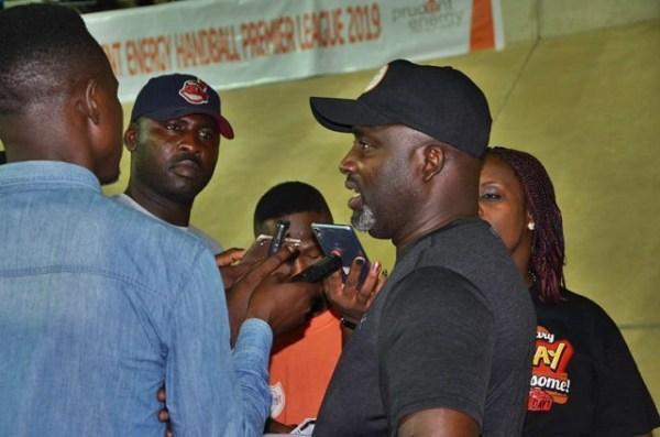 Emmanuel Okocha: There's rapid revival of handball in Nigeria