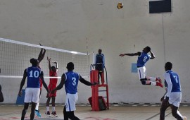 V/ball Division one: Sunshine Spikers, Nigeria Police top table