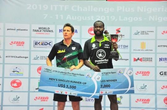 ITTF Nigeria Open: Aruna Quadri retains title