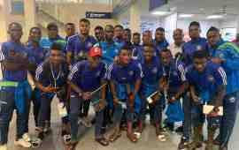 CAFCL: Enyimba land in Ouagadougou for Rahimo test