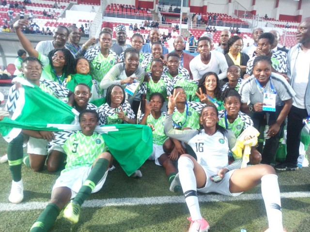 African Games: Nigeria Falconets win women football gold