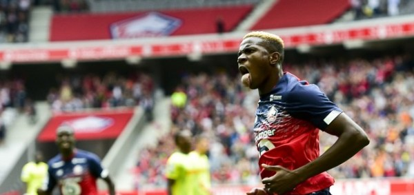 Ligue 1: Osimhen named in team of the week
