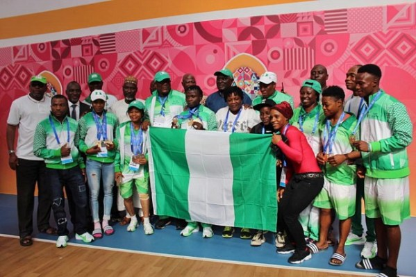 12th African Games: Nigeria place 4th with 49 medals