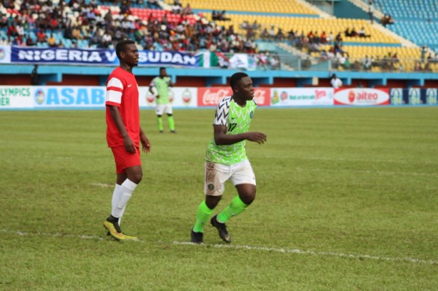 U23AFCON: Nigeria U23 qualify with emphatic win over Sudan