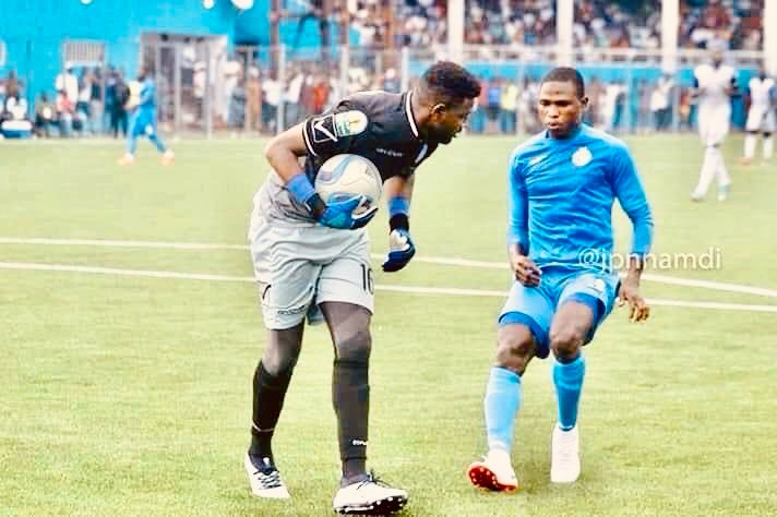 CAFCL: Al-Hilal goalkeeper Salim warns Enyimba on fans impact