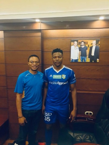 Arab Contractors new signing Kufre Ebong fears no foe