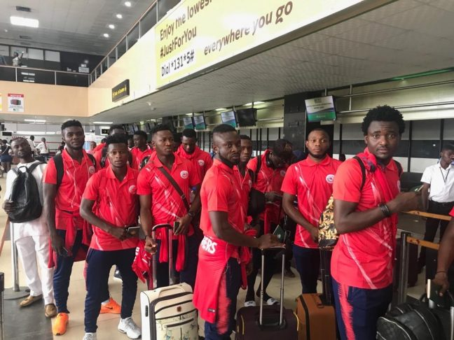 CAFCC: Rangers depart for Gabon with high hopes