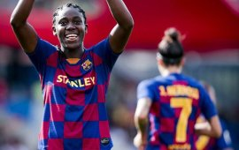 Super Falcons: Oshoala, Barcelona Femeni stay top with win