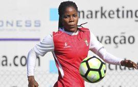 Super Falcons: Uchendu scores as Braga make cup final