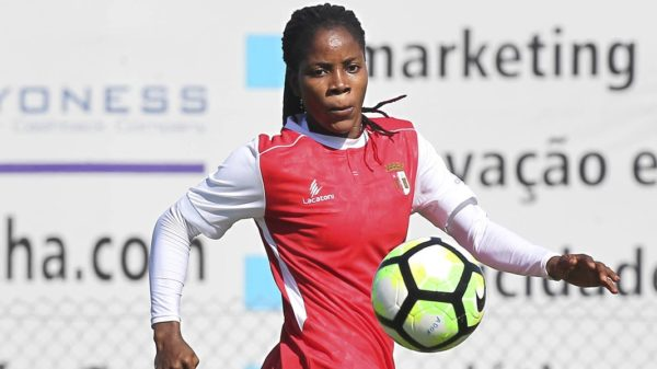 Super Falcons: Uchendu scores as Braga make cup final