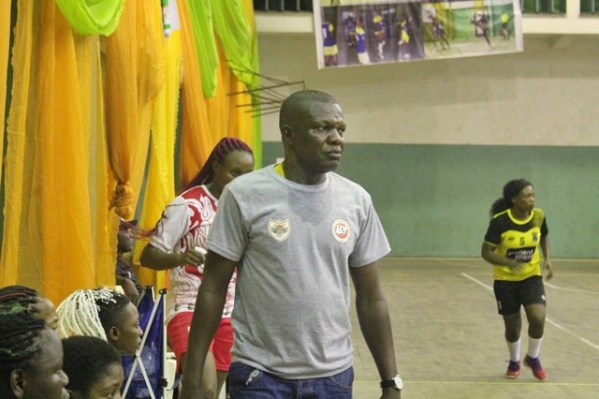 Handball League: Coach Aaron Okojie is on top of the world
