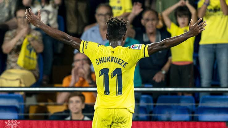 Ballon D'Or: Chukwueze nominated for Kopa award