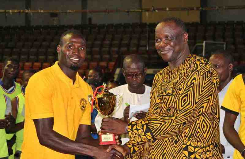 Volleyball: Dauda Saje eyes senior national team return