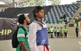 Elizabeth Anyanacho: Athletics to Taekwondo champion