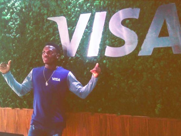 Tokyo 2020: 'perfect' Divine Oduduru unveiled as VISA athlete
