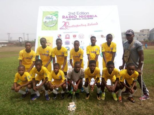 FRCN Kids Cup: Great Calvary start title defence with goalfest