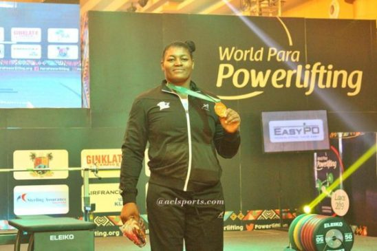 Oluwafemiayo: The World Cup is to prepare me for 2020 Paralympics