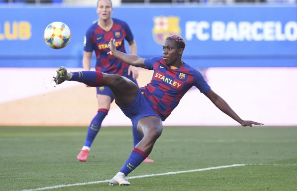 Super Falcons: Oshoala nets brace in Huelva rout
