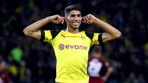 Afro-Euro Round-up: Achraf Hakimi keeps Dortmund close