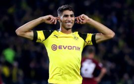 Afro-Euro Round-up: Achraf Hakimi keeps Dortmund close