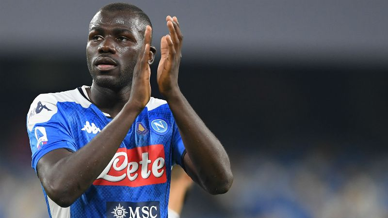Napoli raise fee for defender Kalidou Koulibaly