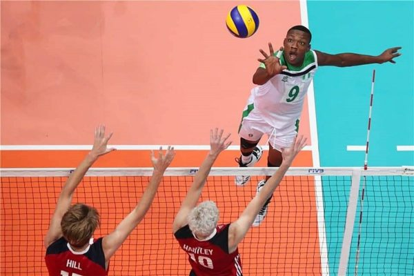 Chris Udah wants to be among the best volleyball players