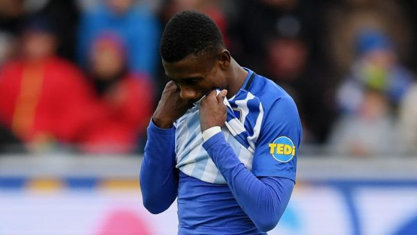 FA regrets Salomon Kalou's suspension at Hertha Berlin