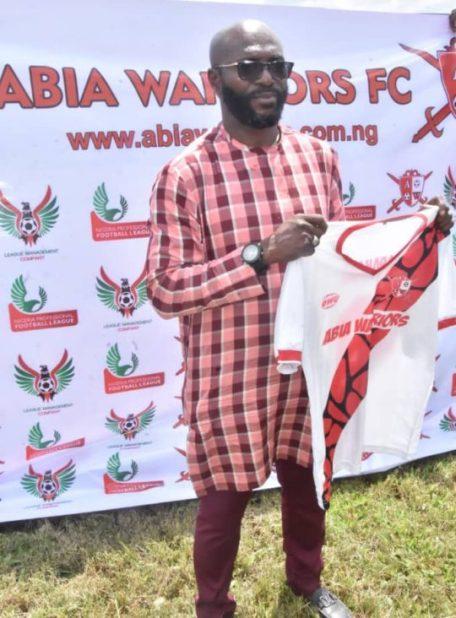 NPFL: Abia Warriors unveil Imama Amapakabo