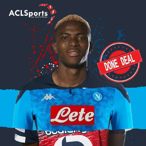 OFFICIAL: Victor Osimhen completes Napoli switch
