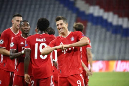 UCL: Lewandowski inspires ruthless Bayern past Chelsea