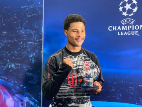 Serge Gnabry: 'Lucky' Bayern want to win the Champions League