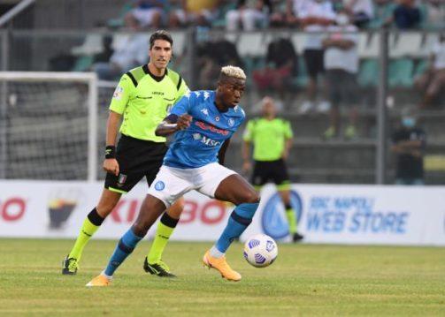 Friendly: Osimhen scores second Napoli hattrick