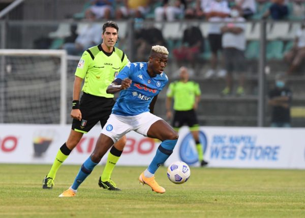 Friendly: Osimhen nets 8-minute hattrick on Napoli debut