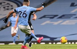 EPL: Mahrez hat trick inspires dominant Manchester City