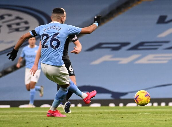 EPL: Mahrez hat trick inspires dominant Manchester City