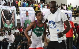 Wrestling: Khadijat Idris now National Champion