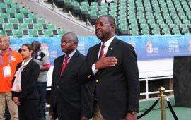 Sunday Dare gives athletes assurance on hosting NSF