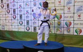 Judo: Enku Ekuta is going to Tokyo Olympic Games