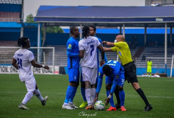 TotalCAFCC: Ten-man Enyimba beat Rivers United in Aba