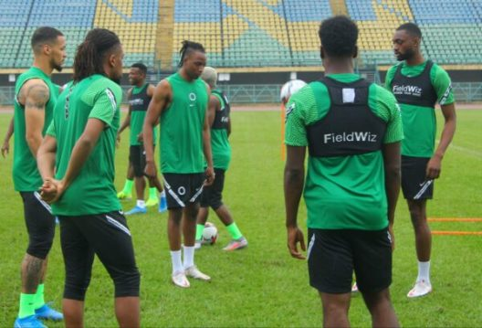 Hosting and #SuperEaglesBackInLagos 1.
