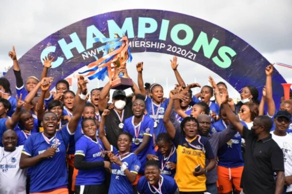 Rivers Angels are NWFL Premiership Champions